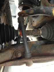 Replace a broken sway bar