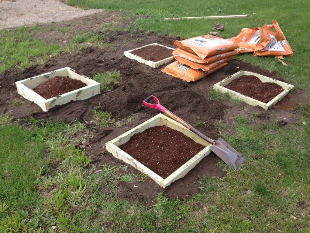 Easy diy garden box handy father Building garden boxes