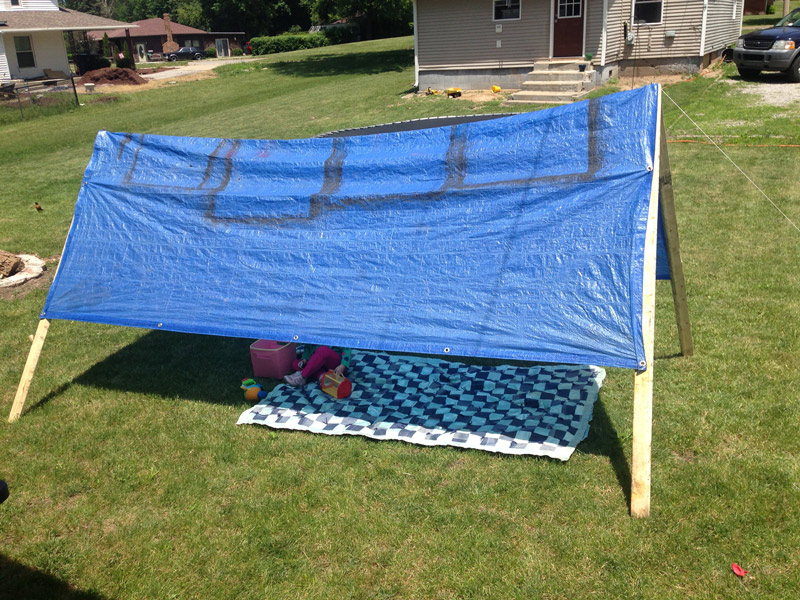 make-your-own-tent-with-a-tarp & make-your-own-tent-with-a-tarp - Handy Father