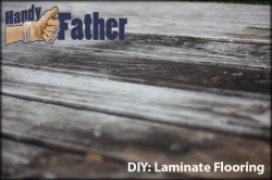 Replace Wood Floor: DIY Laminate Flooring