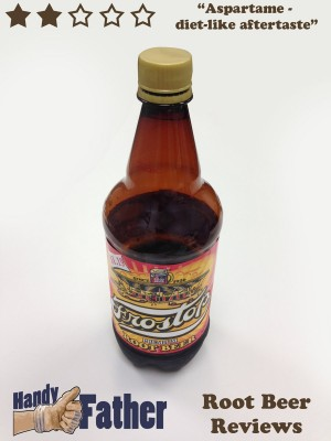 Frostop Root Beer Review