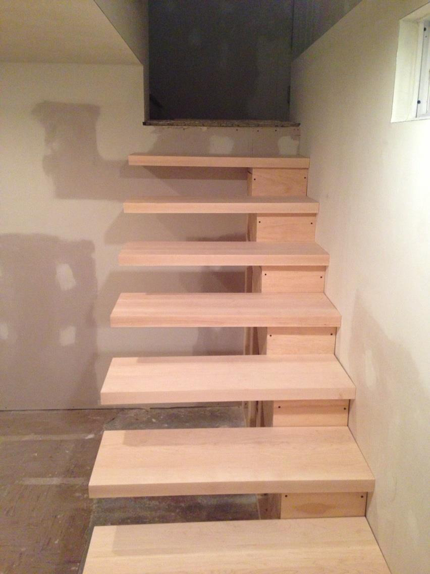 Floating Stairs Pinterest Crafts