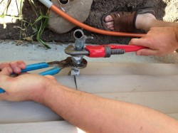 how to replace a garden hose bibb