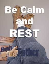 Be calm and rest