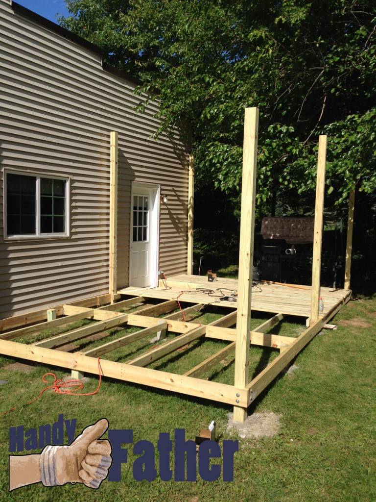DIY deck building