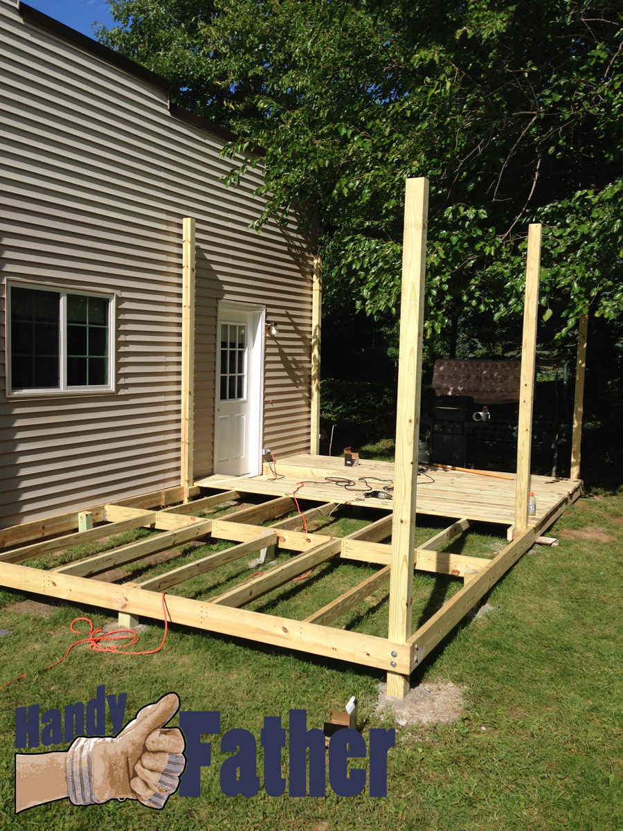 Diy Deck Building Physical Fitness Day 9 Handy Father Llc