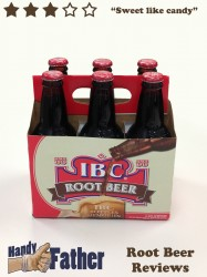 IBC Root beer review by Handy Father
