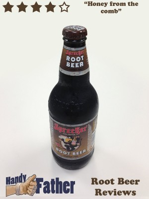 Sprecher root beer review by Handy Father