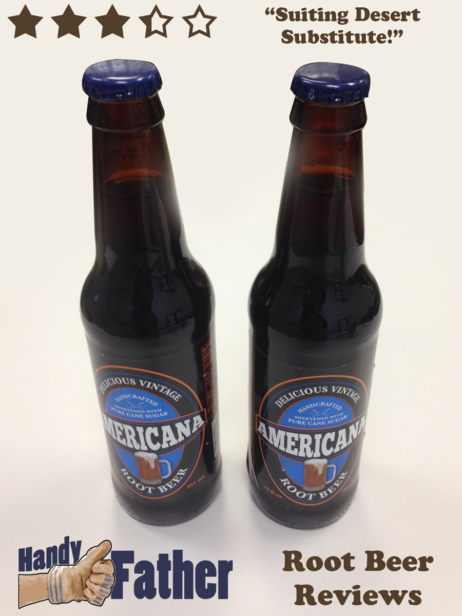 Americana Root Beer Review Handy Father Llc