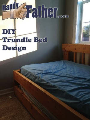 DIY trundle bed design