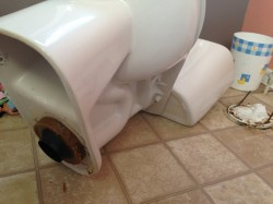 How to replace the wax ring on a toilet