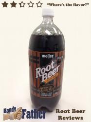 Meijer Classic Draft Root Beer Review