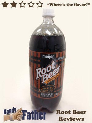 Meijer Classic Draft Root Beer Review