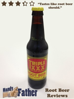 Triple XXX Root Beer Review by Handy Father