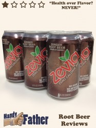 Zevia Ginger Root Beer Review