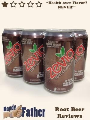 Zevia Ginger Root Beer Review