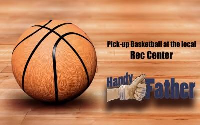 Basketball at the local rec center