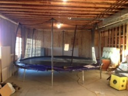 handy father indoor trampoline for 3 year old