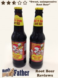 Dog n Suds Root Beer Review, root beer reviews by handy father