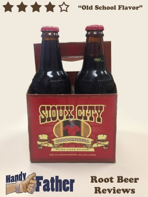 Sioux City Sarsaparilla Root Beer Review by Handy Father