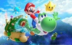 SUPER fun time playing games like Super Mario Galaxy 2