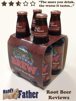 natural brew draft root beer review