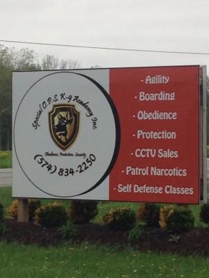 Special O.P.S. K-9 Academy