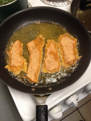 Cooking and eating freshwater drum