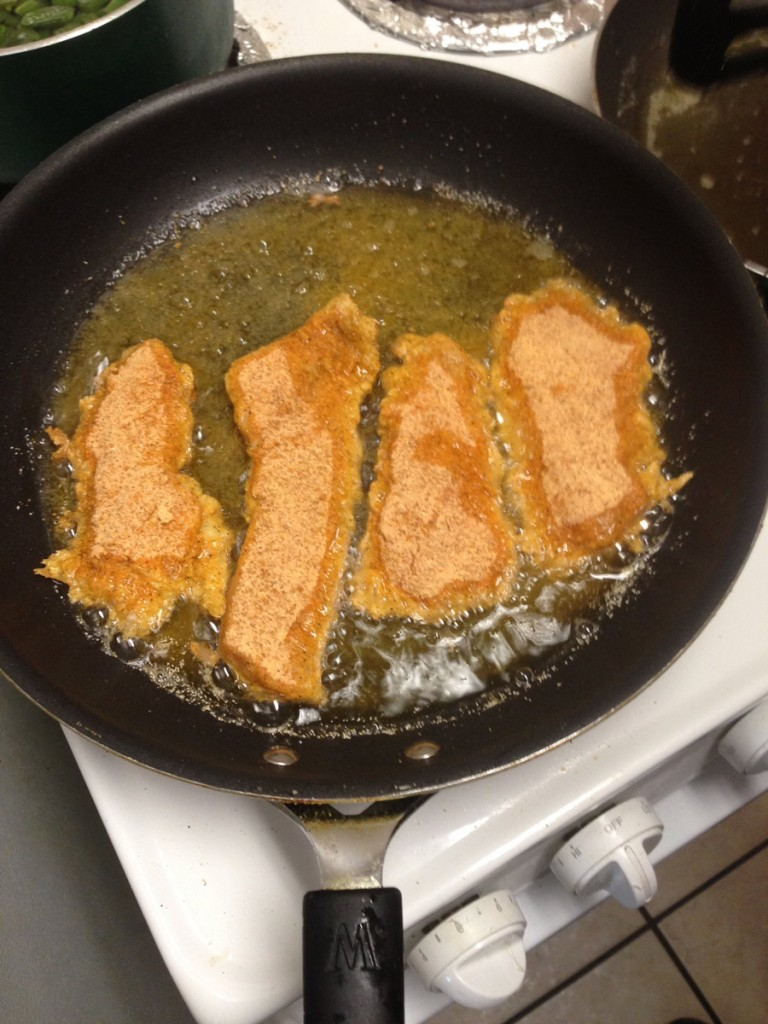 Cooking and eating freshwater drum handy father for Drum fish recipes