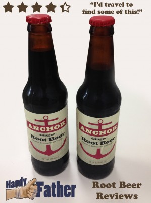 Anchor Ginger Root Beer Review by Handy Father