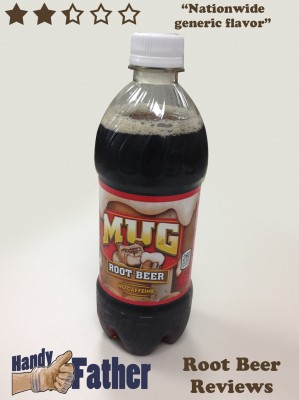 Mug Root Beer Review - Root beer reviews by handyfather.com