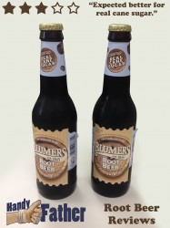 Blumers Root Beer Reviews by handy father