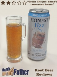 Honest Fizz Root Beer Review
