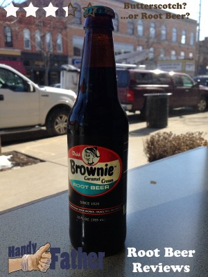 brownie caramel cream root beer review