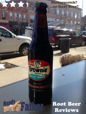 brownie caramel cream root beer review