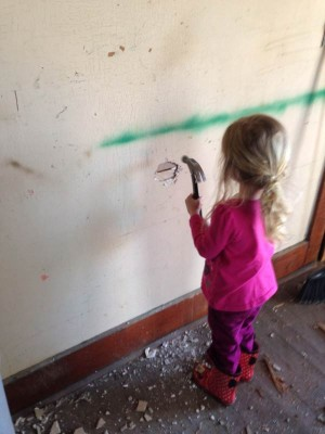 kids help how to replace water damaged plaster