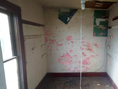 how to replace water damaged plaster