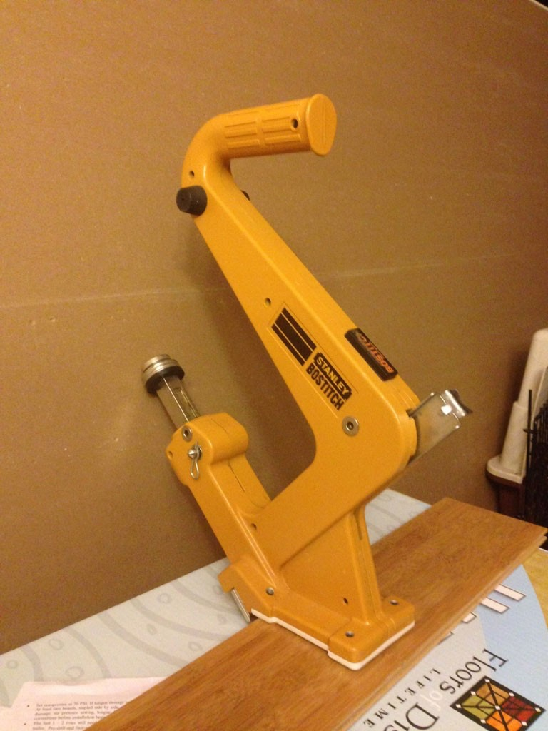 Factory Reconditioned Bostitch-Hardwood-Flooring-Nailer