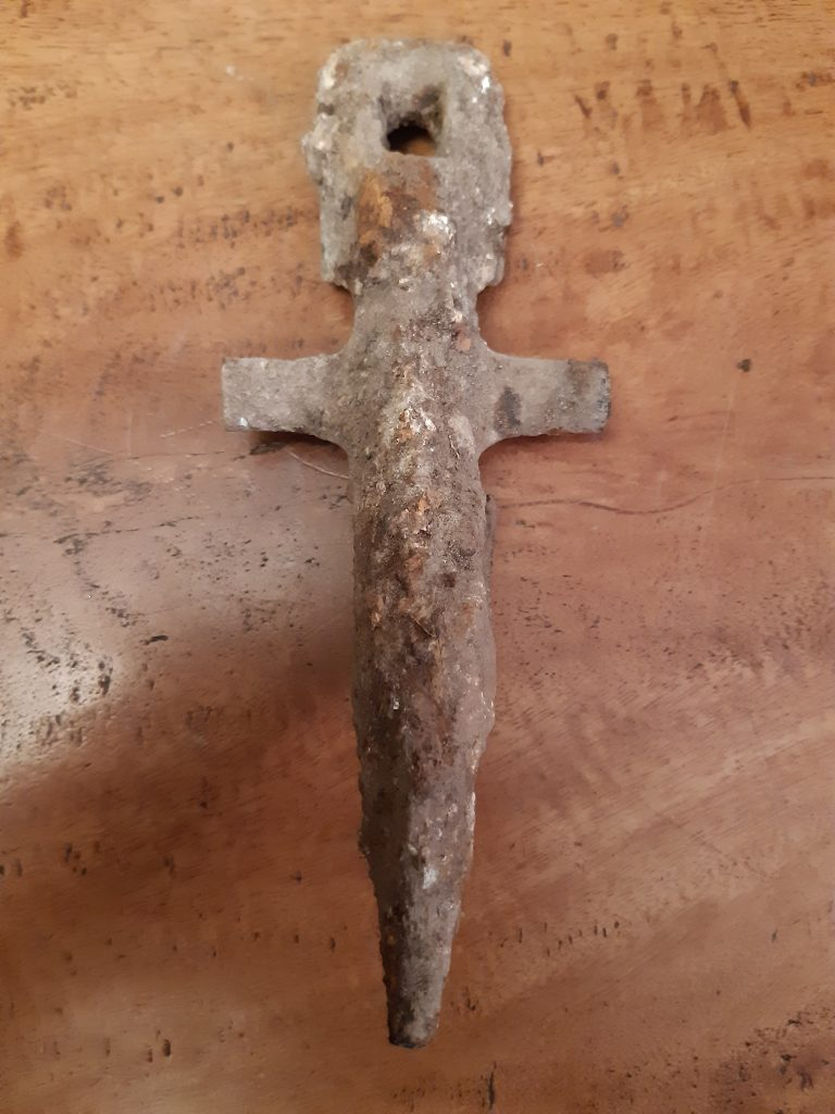 mystery farming items found metal detecting.